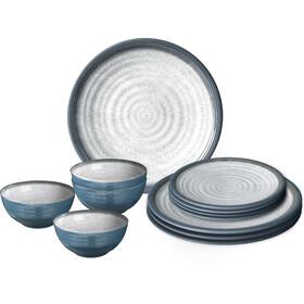 Brunner Midday Serviesset, blauw/grijs